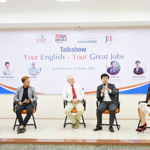 """Your English – Your Great Jobs"": Chinh phục tiếng Anh cùng thầy giáo gây sốt cộng đồng mạng."
