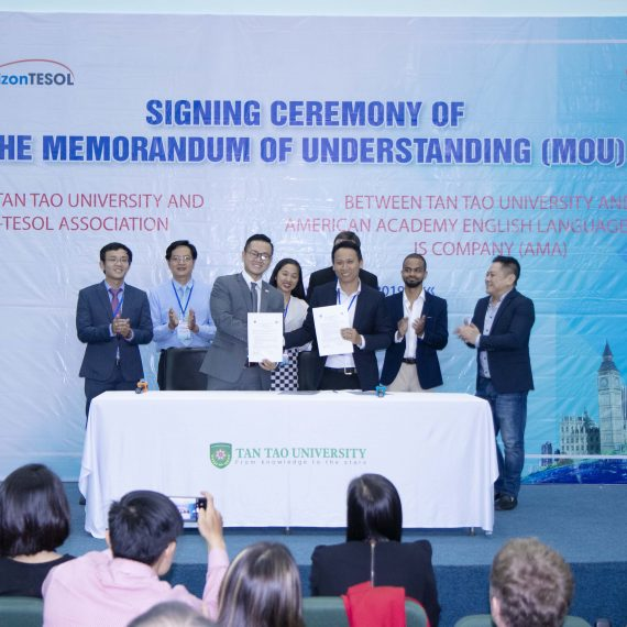 Horizon tesol in cooperation with TESOL HCMC Association help improve English teaching