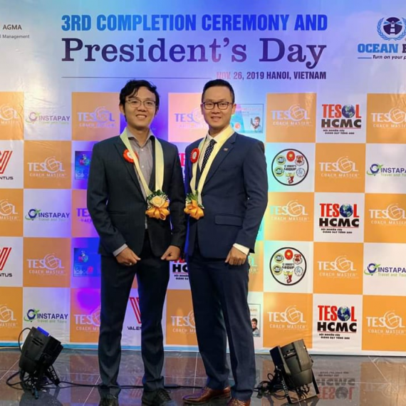 SỰ KIỆN 3rd COMPLETION CEREMONY & PRESIDENT'S DAY