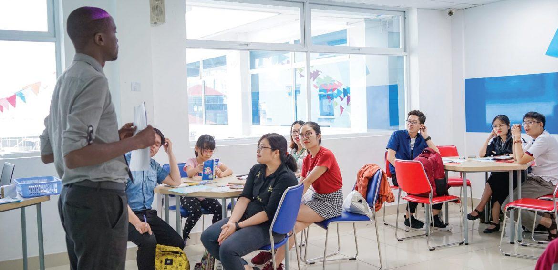 Hoạt động team-building cho học sinh Trung học