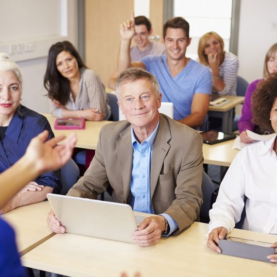 How to maximise the language learning of senior learners